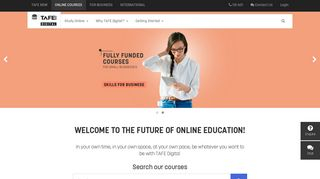 Online Courses & Distance Learning - TAFE NSW