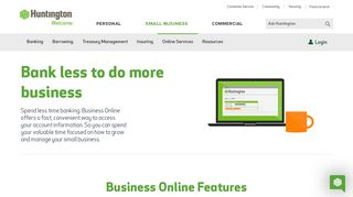 Business Banking Online | Small Business | Huntington