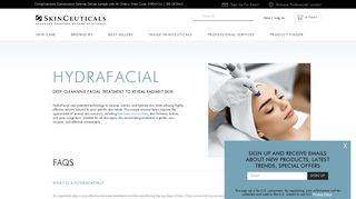 HydraFacial   SkinCeuticals