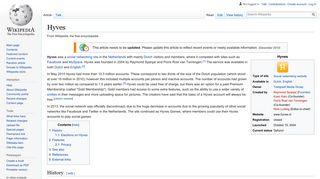 Hyves - Wikipedia