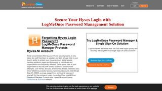 Secure Your Hyves Login with LogMeOnce Password Management ...