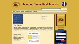 Iranian Biomedical Journal