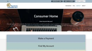 Consumer Home | IC System