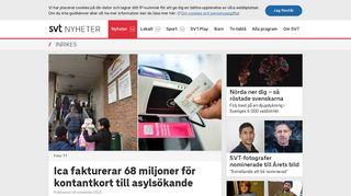 Ica fakturerar 68 miljoner för kontantkort till asylsökande | SVT Nyheter