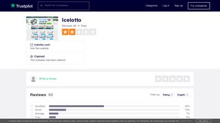 Icelotto Reviews   Read Customer Service Reviews of icelotto.com