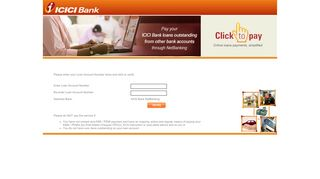 ICICI Bank - Click to pay - BillDesk