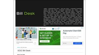 Pay Your ICICI Bank Credit Card Bills Online - Bill Desk, Billdesk ...
