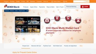 Prepaid Cards in India - Find the Best Prepaid Cards - ICICI Bank