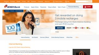 Internet Banking  Net Banking   Online Banking   Personal ... - ICICI Bank