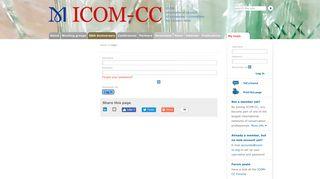 Login - ICOM-CC