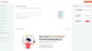 Idea Online Recharge - Idea Prepaid Mobile on FreeCharge
