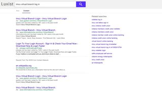 imcu virtual branch log in - Luxist - Content Results