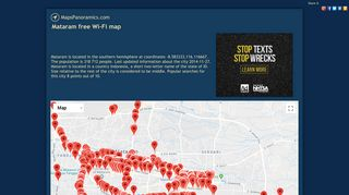 Mataram free Wi-Fi map - MapsPanoramics.com