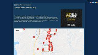 Purwakarta free Wi-Fi map - MapsPanoramics.com