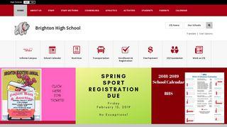 Brighton High School / Homepage - 27J Schools