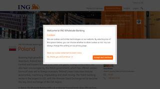 Poland   ING WB - ING Wholesale Banking