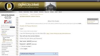 InformationNOW- Parent Portal   Parent & Student Resources ...
