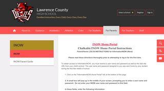 INOW / INOW - Lawrence County School District AL