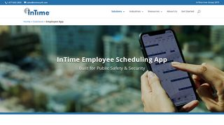 InTime Scheduling App   Put the Schedule in Your Employee's Pockets