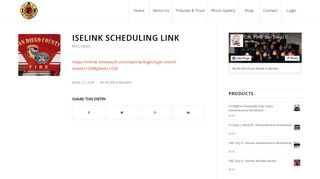 ISELINK Scheduling Link – CAL FIRE San Diego County Firefighters
