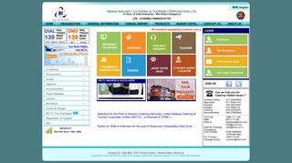 IRCTC Corporate Portal