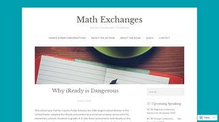 Why iReady is Dangerous – Math Exchanges