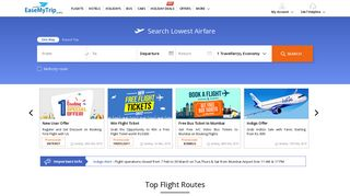EaseMyTrip.com: Book Flights, Hotels, Bus Tickets & Holidays