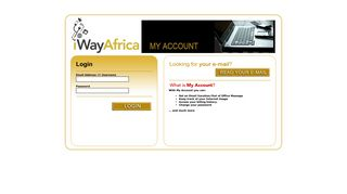 iWay Africa - My Account