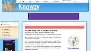 Free Wi-Fi at Jack in the Box is Gone! - Knowzy