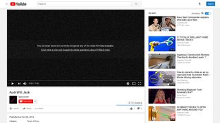 Audi Wifi Jack - YouTube