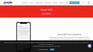 Guest WiFi - Leading Providers of Guest WiFi Solutions   Purple
