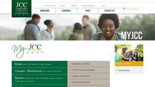 MyJCC   Jamestown Community College