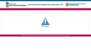 JEE(Main) 2019: Download your Admit Card