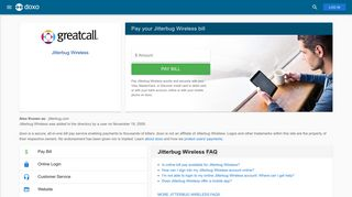 Jitterbug Wireless: Login, Bill Pay, Customer Service and Care Sign-In