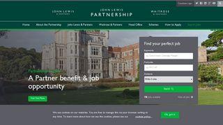 JLPJobs.com: John Lewis Partnership Careers at Waitrose & Partners ...