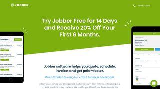 Referral Signup - Jobber