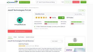 JOSOFT TECHNOLOGIES PVT LTD Reviews, Employee Reviews ...