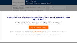 JPMorgan Chase Perks at Work