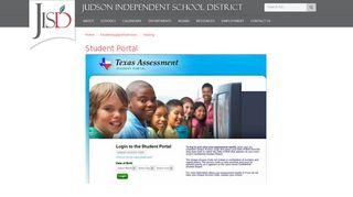 Student Portal - Judson ISD