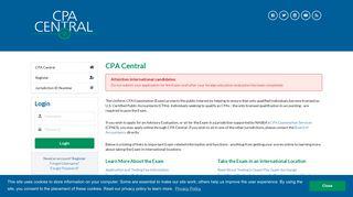 CPA Central - nasba