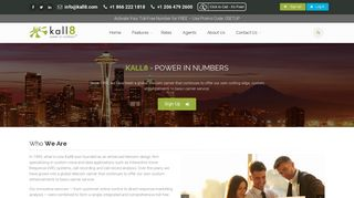 Vanity, 1 800 Numbers, & Toll Free Phone Services - Kall8 About Us