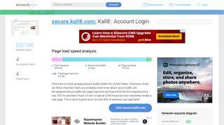 Access secure.kall8.com. Kall8 : Account Login