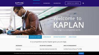 Kaplan: Home