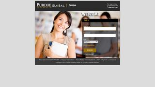 Sign In for Purdue Global Campus