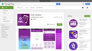 KBL Mobile - Apps on Google Play