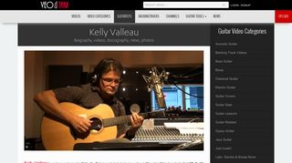 Kelly Valleau - biography, videos on Veojam