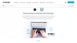Keynote Single Sign-On (SSO) - Active Directory Integration - LDAP ...