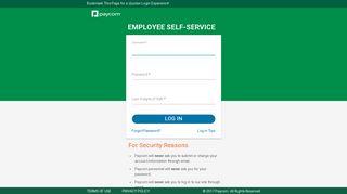 Employee Login - Paycomonline.Net