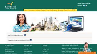 Booking Ticket, Hotel, Tour Reservation - KlikBCA