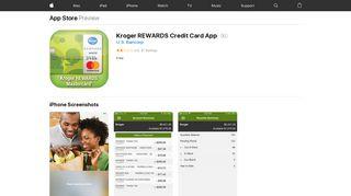 Kroger REWARDS Credit Card App on the App Store - iTunes - Apple
